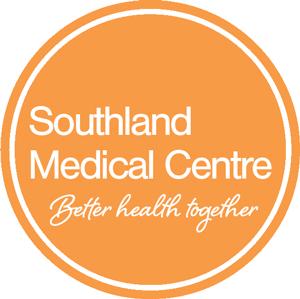 Southland Medical Centre: Better Health Together - logo.